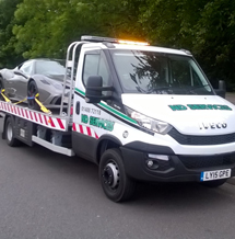 car breakdown recovery by nd services